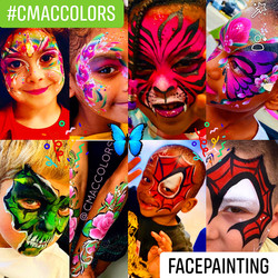 Face painting services