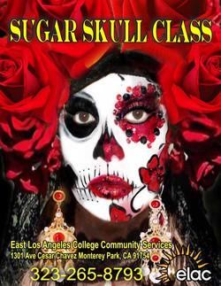 Sugar Skull at ELAC/LAVC/CC