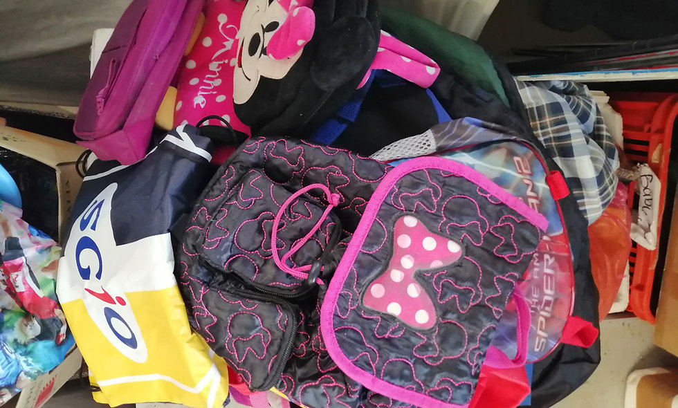 Secondhand bags priced @ each