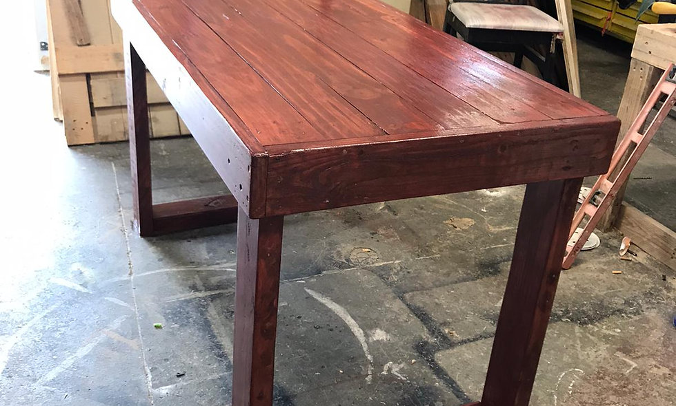 Heavy Duty Bar Table - Made out of pallet wood