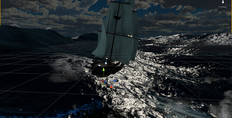 VR Nausea Pirate Ship Dissertation Experiment Project