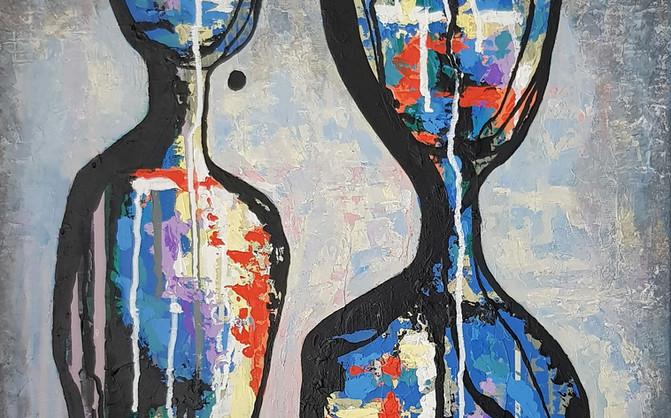 Intimate Argument, 50x70cm, acrylic on canvas, 2020.jpg