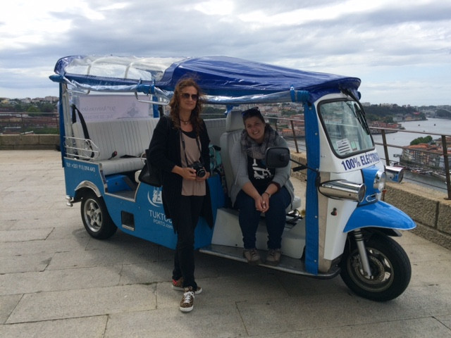 Porto Half-day Tour with Tuk-tuk ride and Lunch