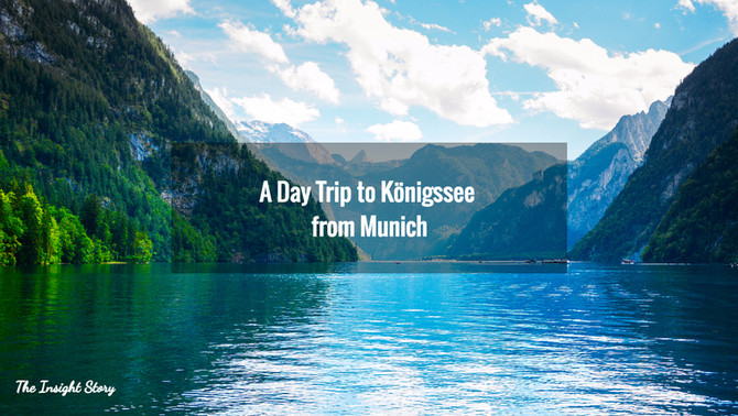 A Day Trip to Königssee from Munich