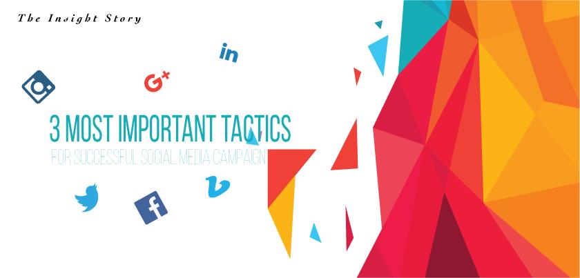 Most important tactics for social media campaign