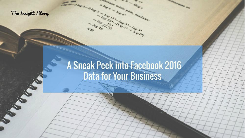 Banner: a sneak peek into FB 2016 data