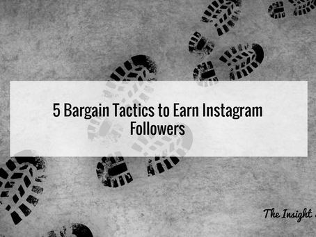 5 Bargain Tactics to Earn Instagram Followers