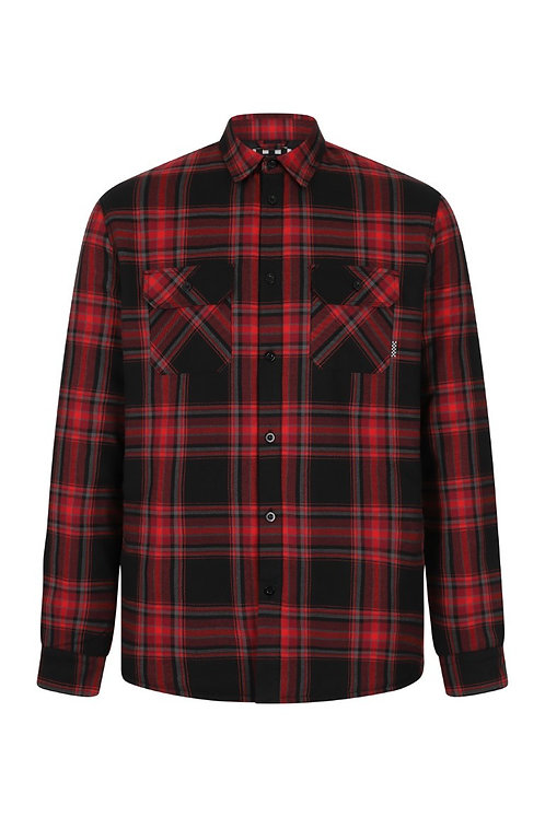 Flannel Checked Overshirt