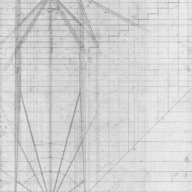 Plan section and elevation