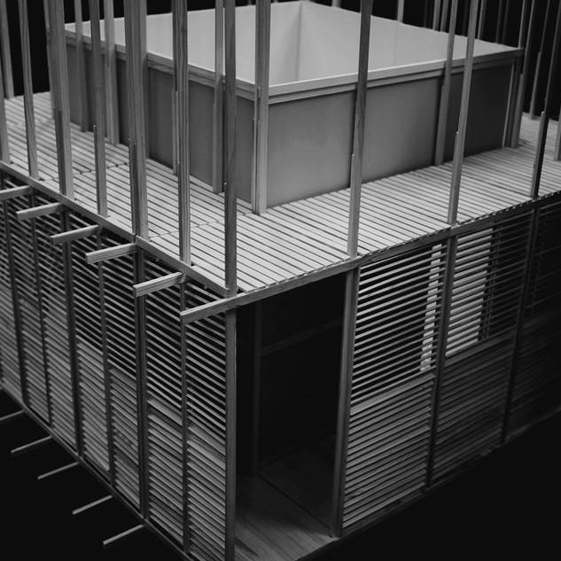 Wood, cardboard - 1:20