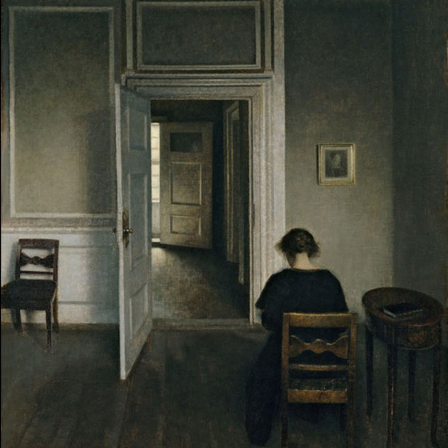 Vilhelm Hammershøi - Interior, Strandgade 30