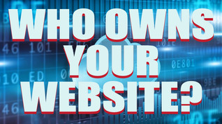 Who owns your website? Was it a purchase or a rental?