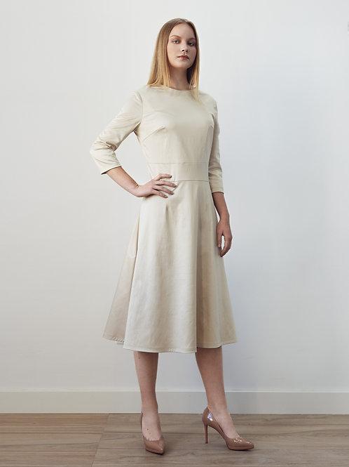 Beige Long Dress