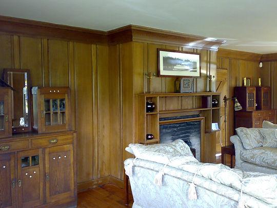 Cedar panelling