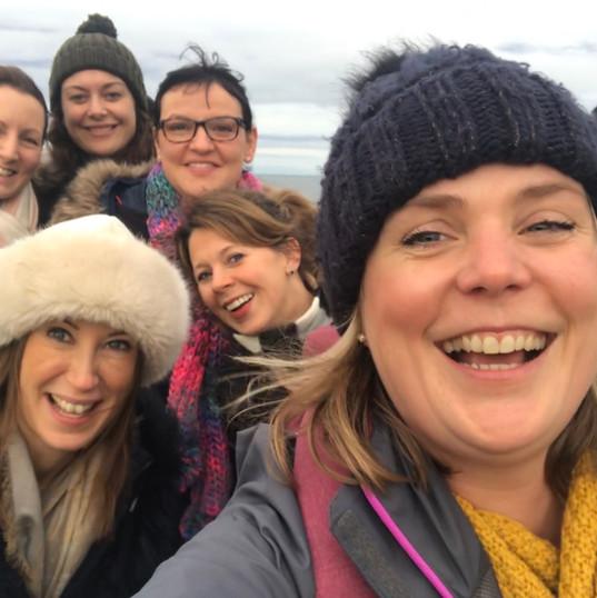 Girls trip to Northumberland