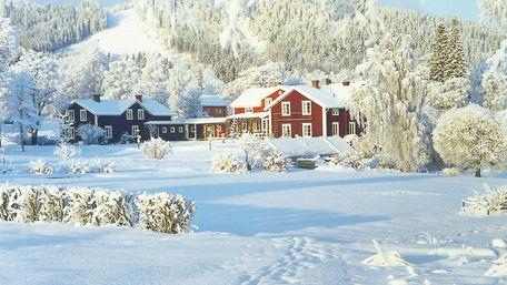 Konferens på vintern i Järvsö