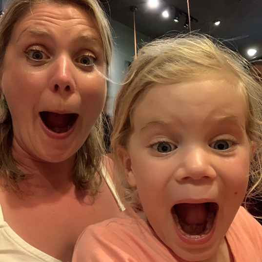 Expressive daughter!
