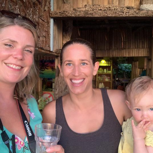 Thai beach bar
