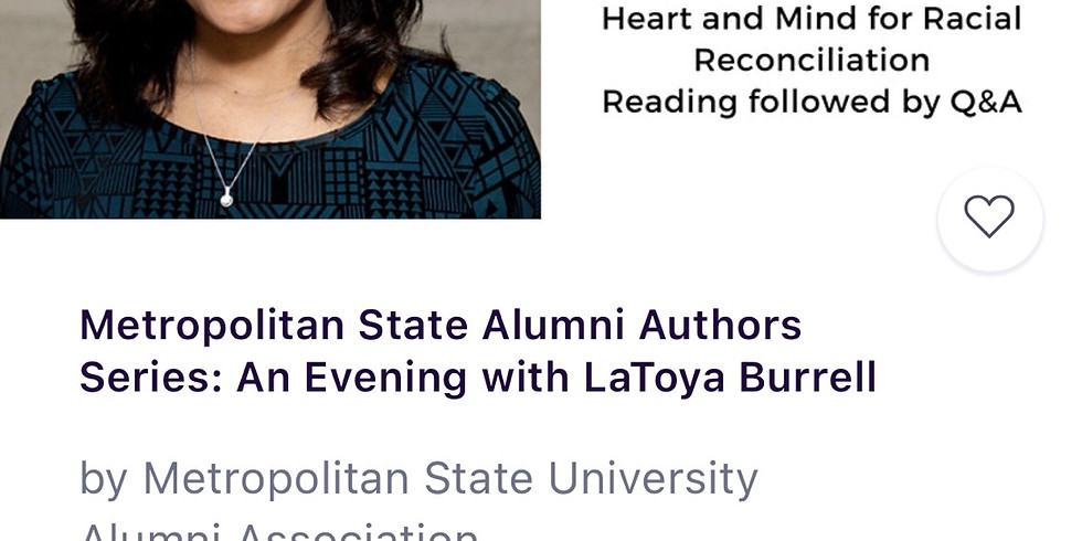 Metropolitan State University Alumni Author Speaker Series