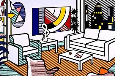 Communication interne art roy lichtenstein