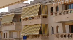 Toldos balcón comunidad