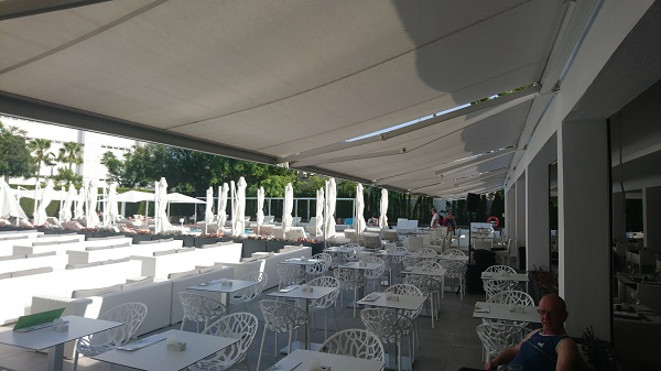 Toldo cofre lineales