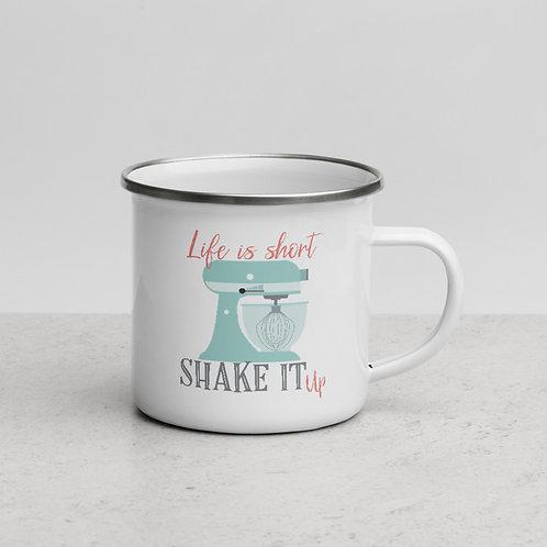 Taza esmaltada Delicious Shake
