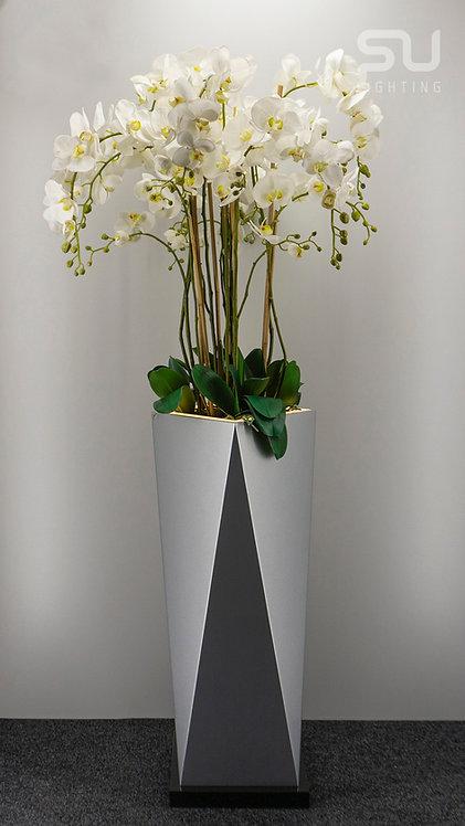 Octagon silver gloss
