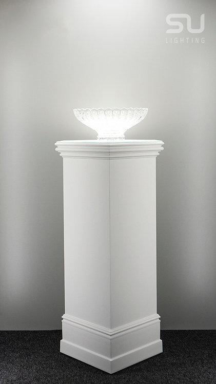 DECO white pedestal 1