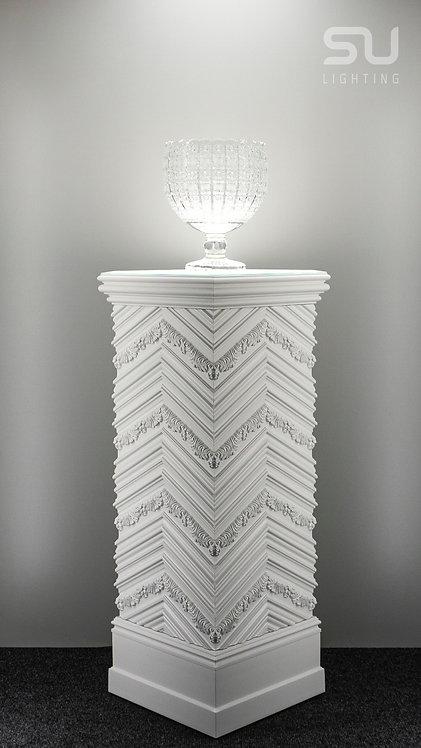 DECO white pedestal 2