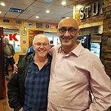 Lakhi with William Paul Young, author of