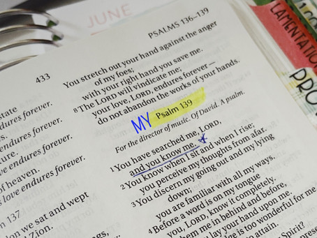 My Psalm 139