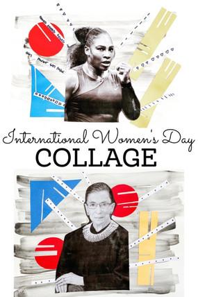 INTERNATIONAL WOMEN'S DAY COLLAGE