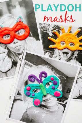 Playdoh Masks