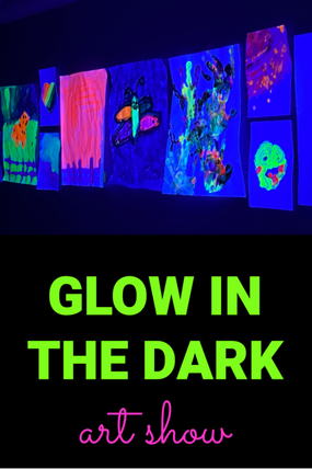 GLOW IN THE DARK ART SHOW