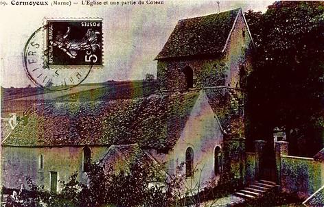 L'église et les côteaux