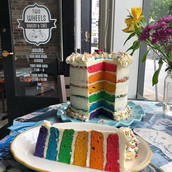 Free Pride Cake at Two Wheels! Come and