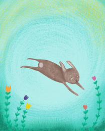 Bunny in Spring