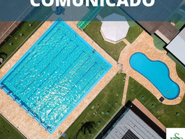 Agendamento natação a partir de 23/03