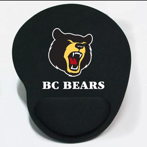 Bear Mouse Pad Black