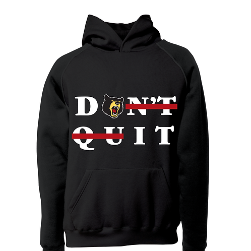 Don't Quit/Do It Hoodie Black