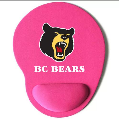 Bear Mouse Pad Pink