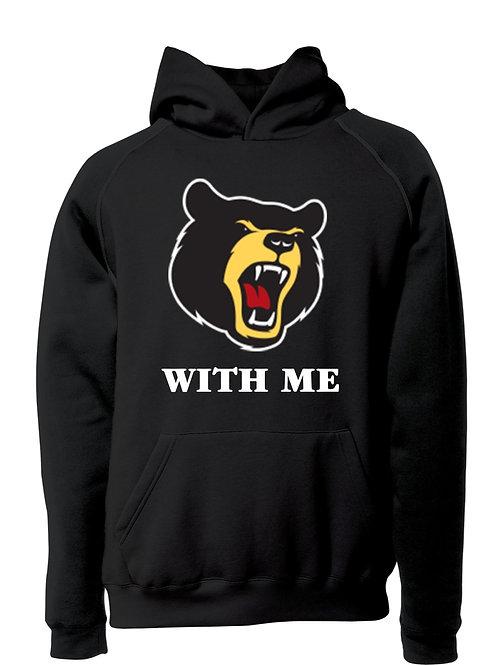 Bear With Me Hoodie Black