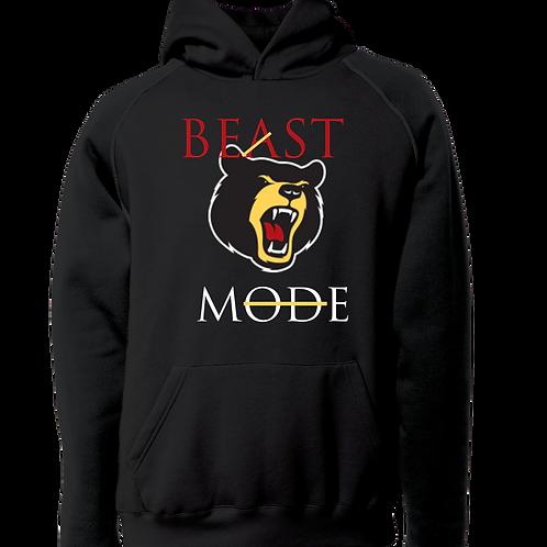 Beast Mode Hoodie Black
