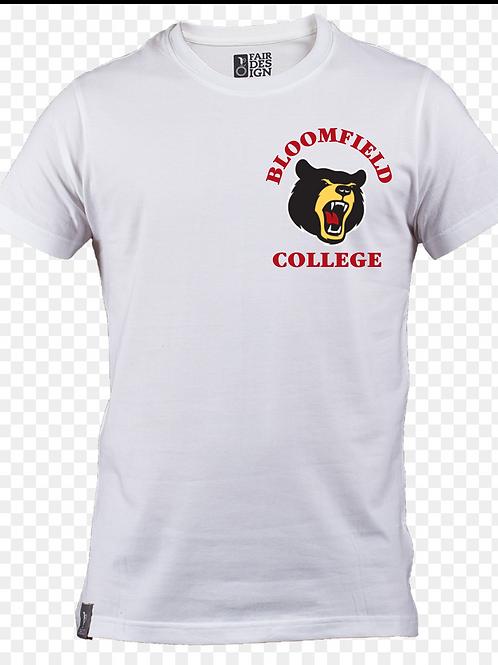 Bear Logo T White