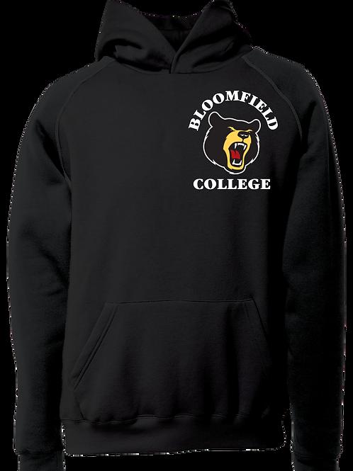 Bear Logo Hoodie Black