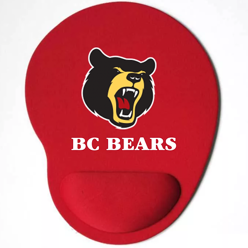 Bear Mouse Pad Red