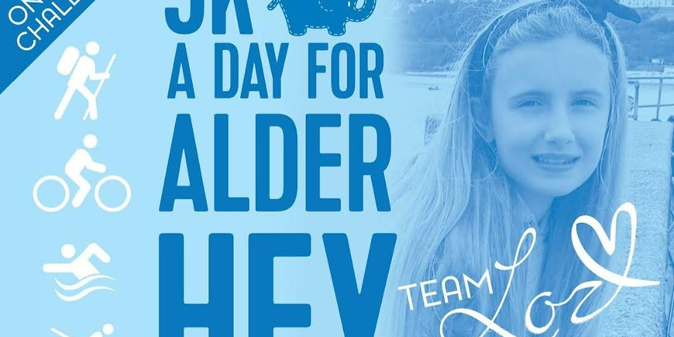 5k a day for Alderhey