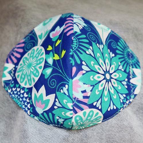Kids: Blue Green Flowers