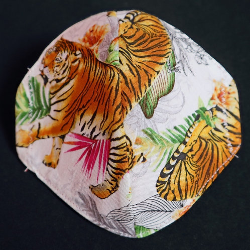 Tigers on White